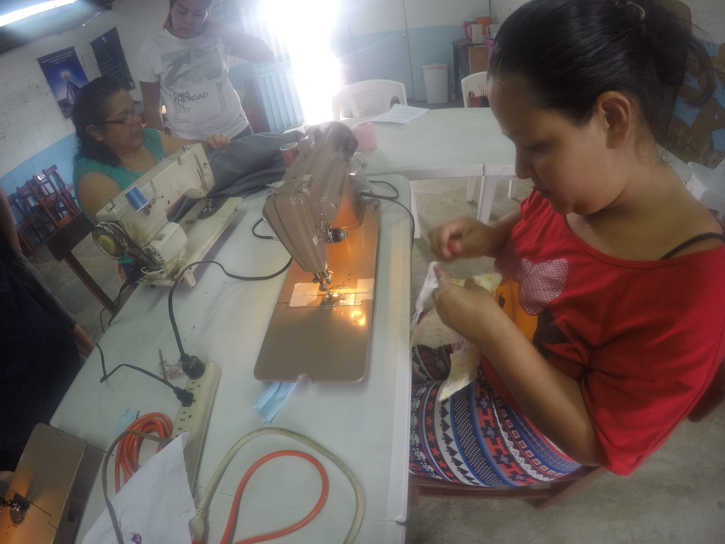 Mastering the sewing machine