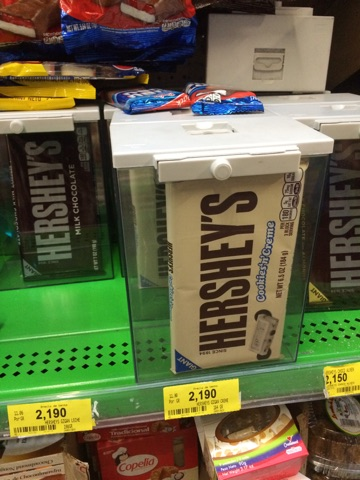 Hershey's Chocolate in a safety case...?