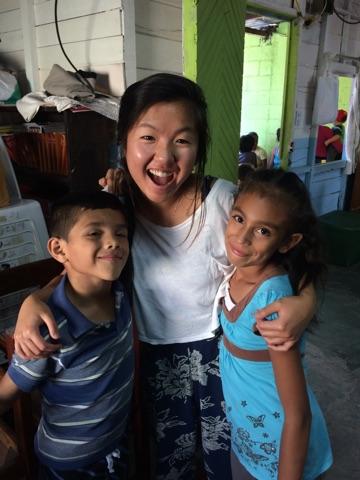 Julio and Yamigiving me a goodbye hug!