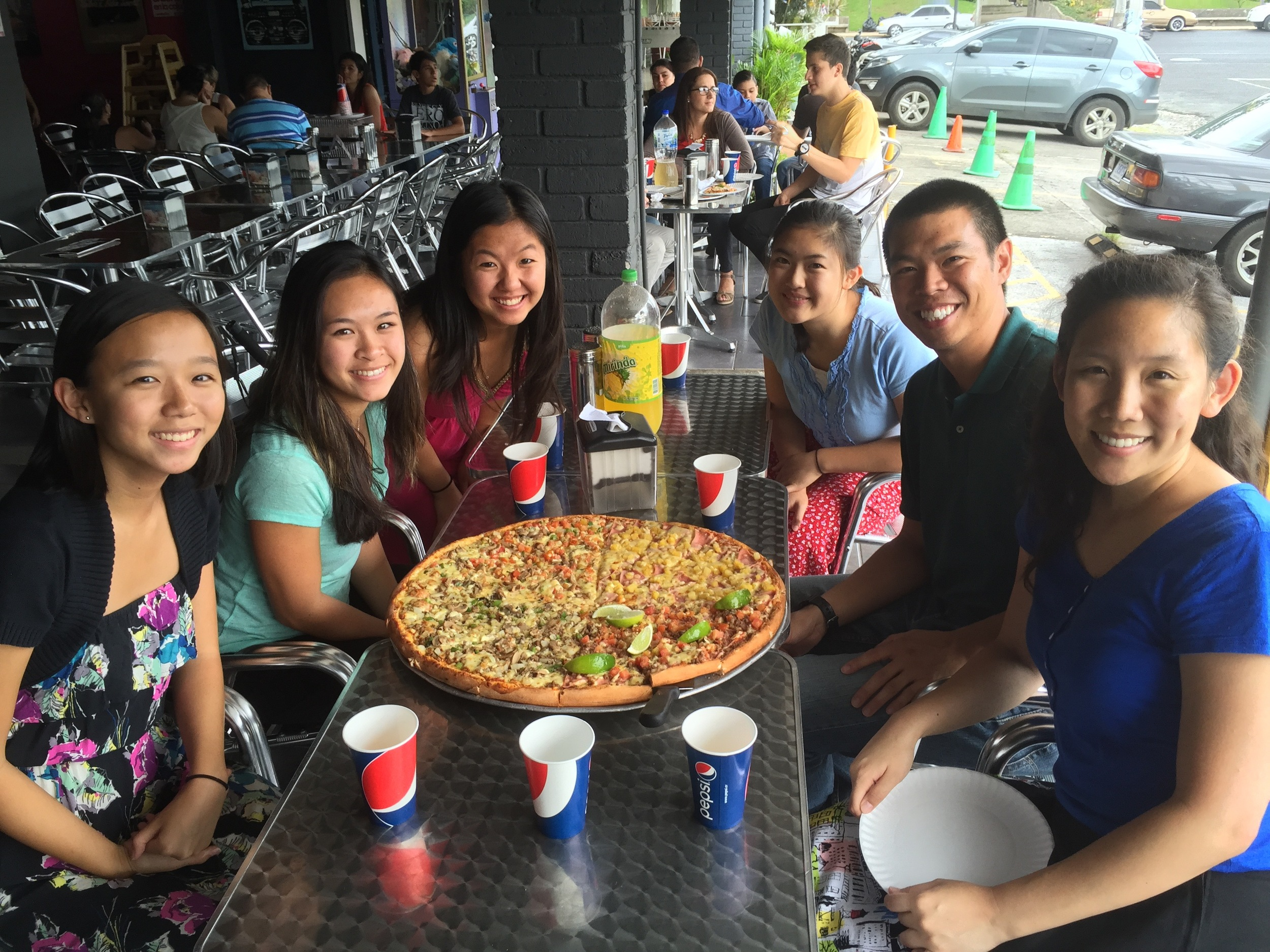 Us.. vs. Pizza...