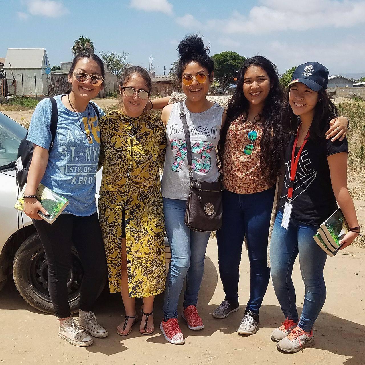 Destiny, Karla, Deborah, Genesis, and me!