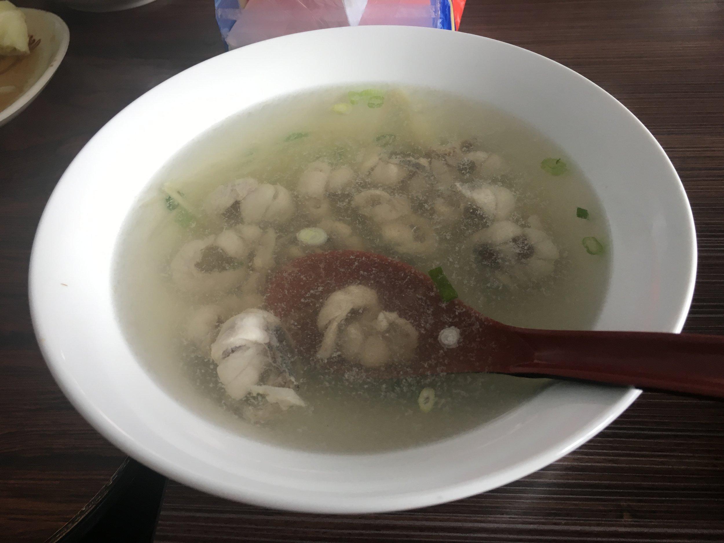 Milkfish Soup