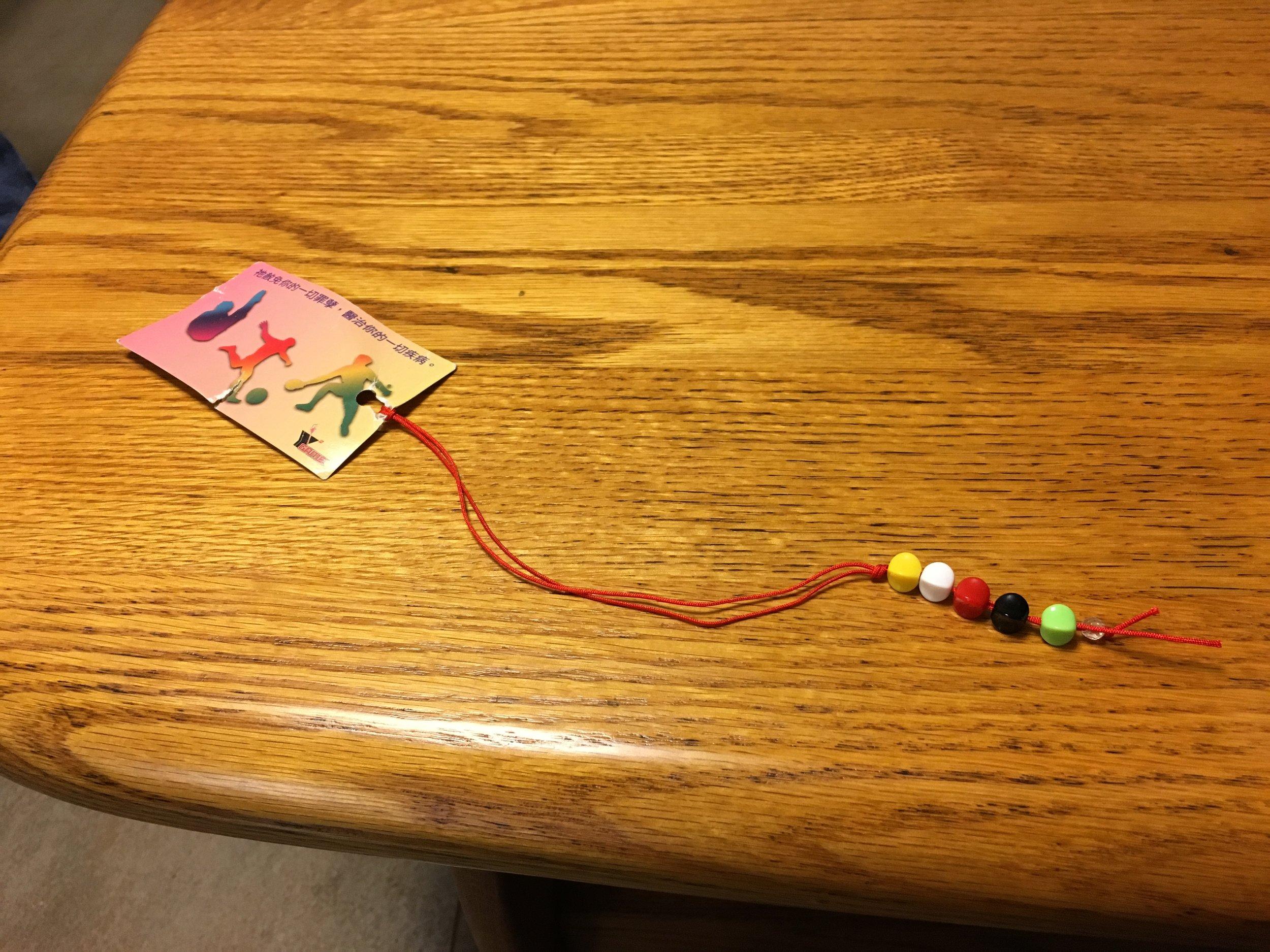 Gospel bead craft