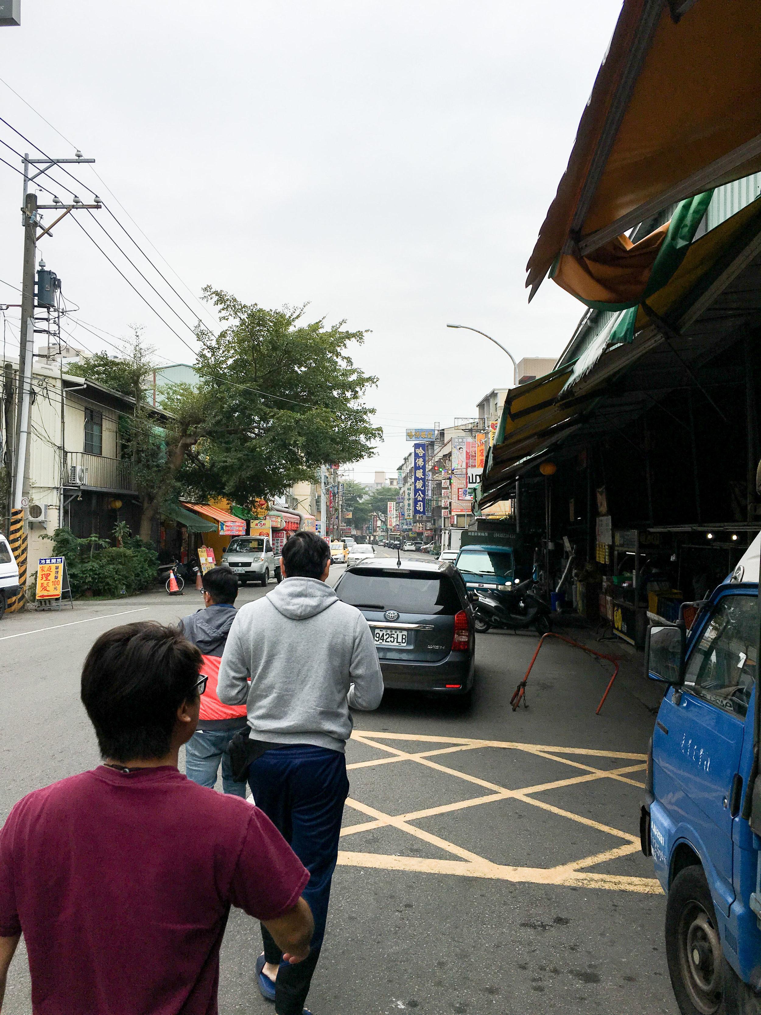 Walking around Taichung