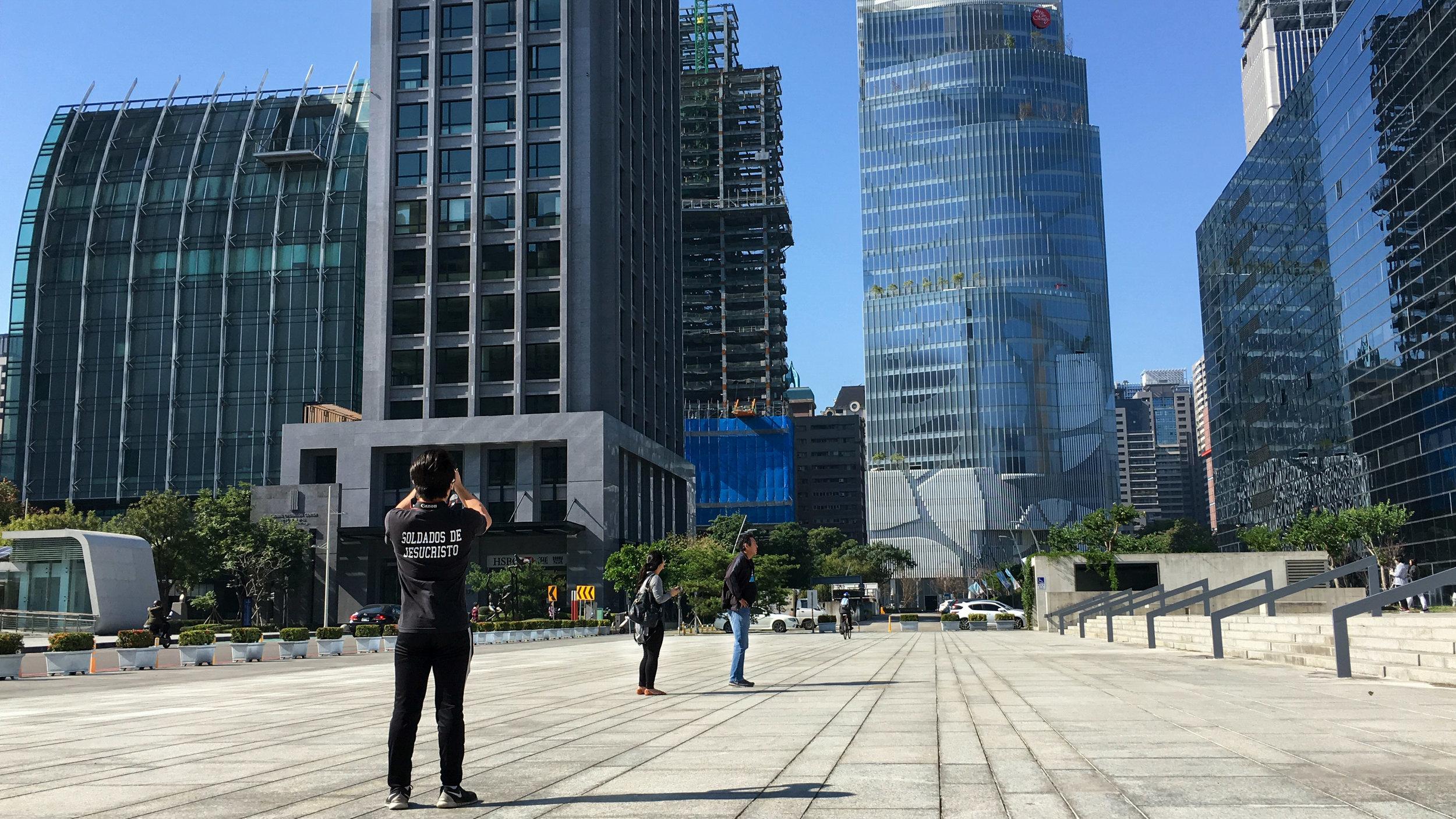 Visiting Taichung City Hall