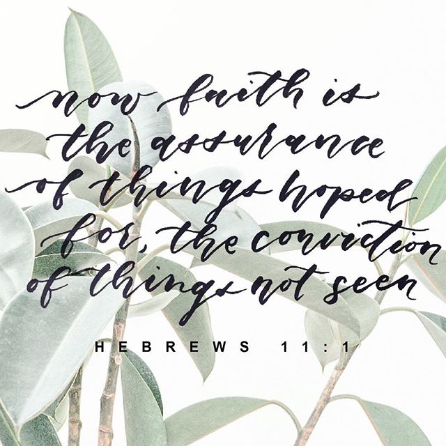 Remain full of faith despite trials and unforeseeable circumstances . . . Artwork by: Hannah Hwang (@hannah.letters) . . #ScriptureSunday #TCP #TheCultivationProject #Klema