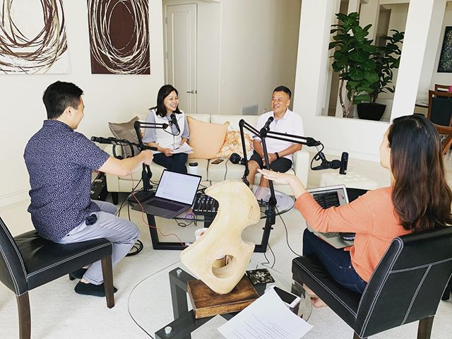 Finished our third podcast interview with Joe & Amy Wu! 🙌🏼🥳 #podcast #thecultivationproject PC: @elishachu_036