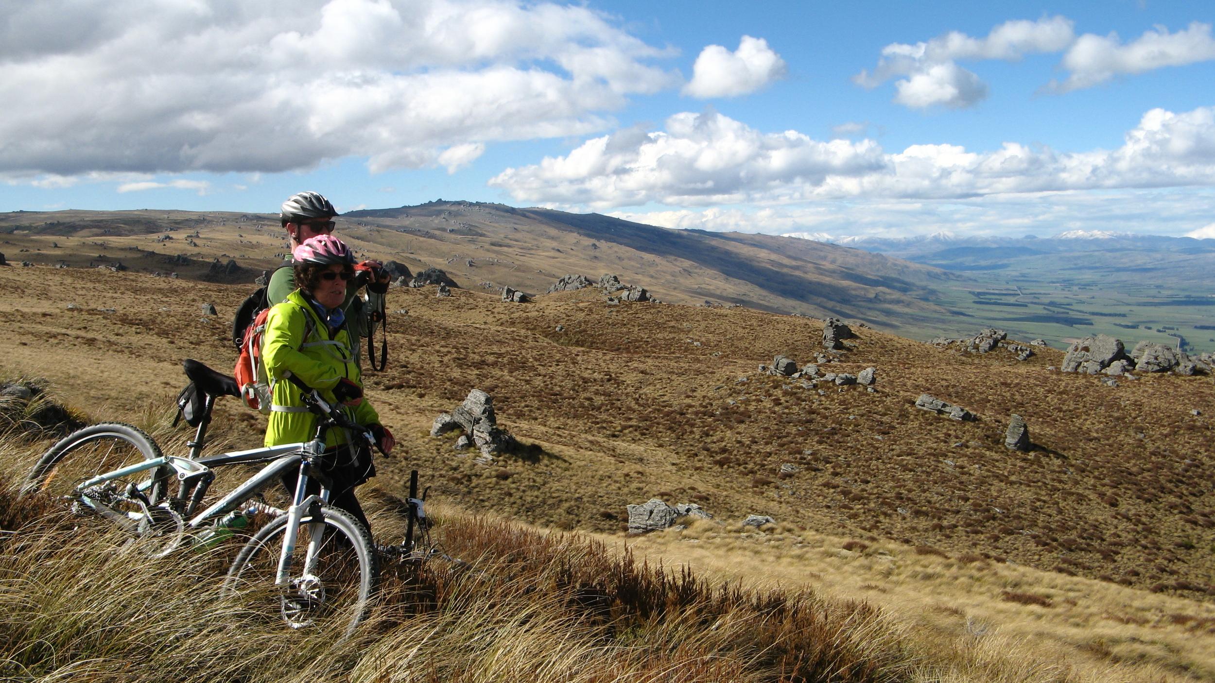 mountain biking Rock and Pillars