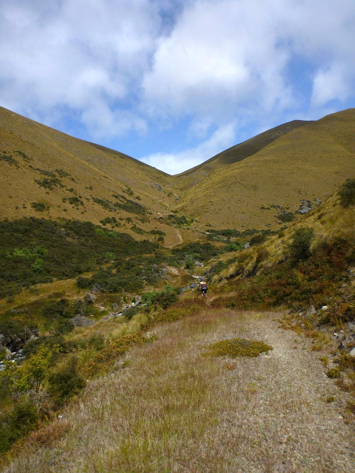 single track central Otago Naseby