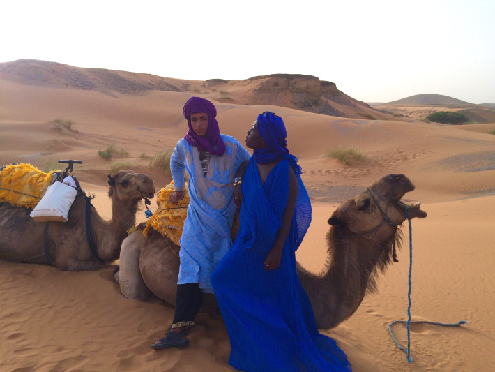 Erg Chebbi, Merzouga, Morocco