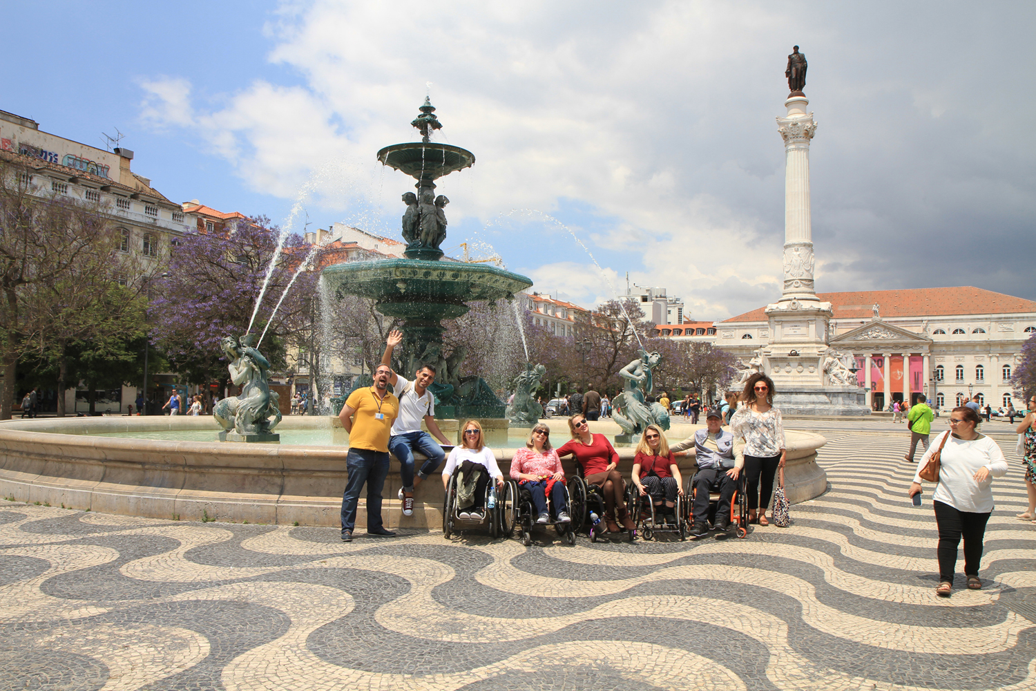 Our group trip to Portugal in May 2018.