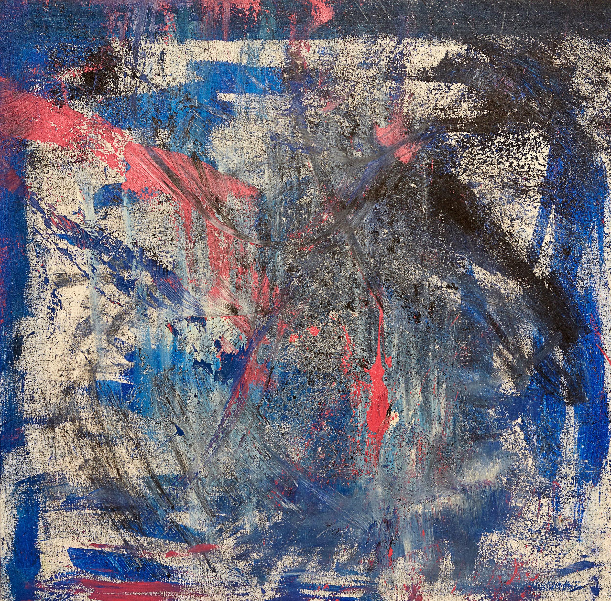 "Odium , 2011   Oil on canvas   27 x 27"""