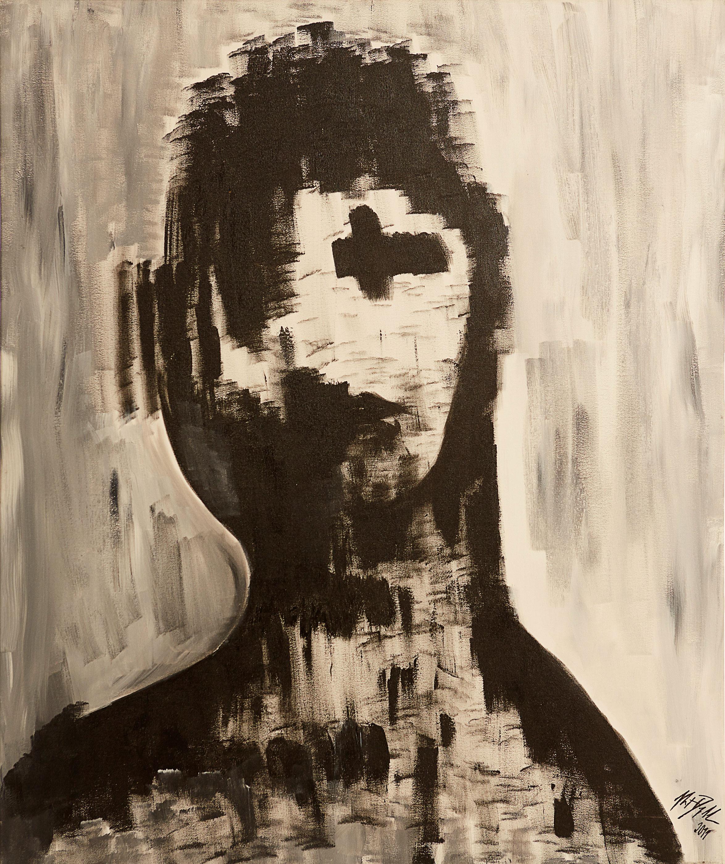 "Vanity, 2011   Oil on canvas   38 x 46"""
