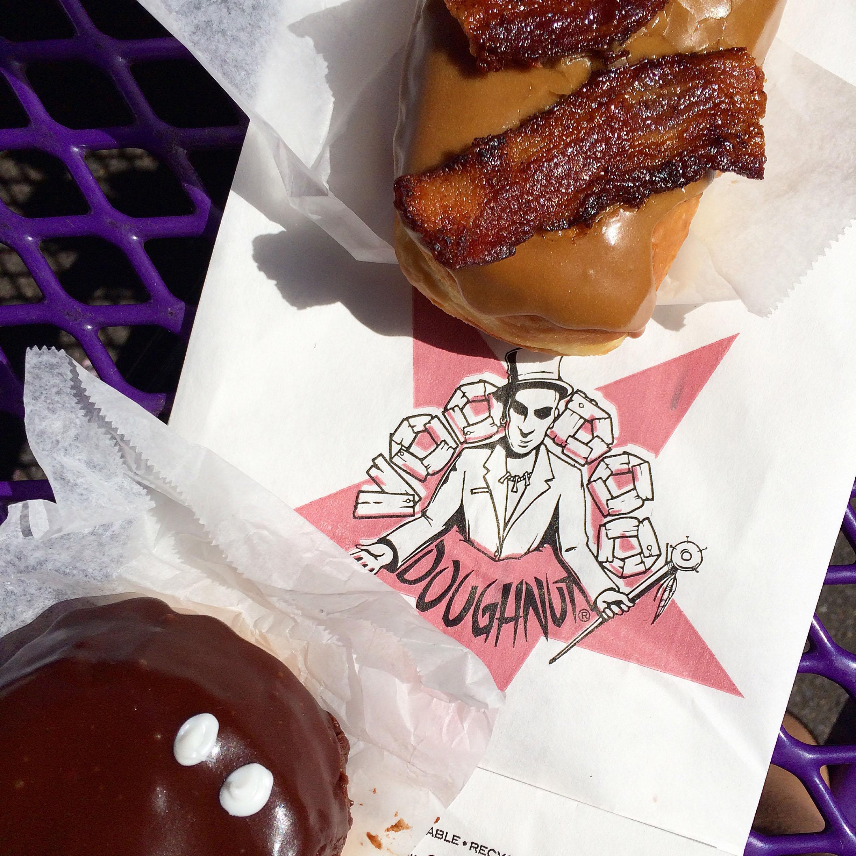 Maple Bacon vs. Portland Cream