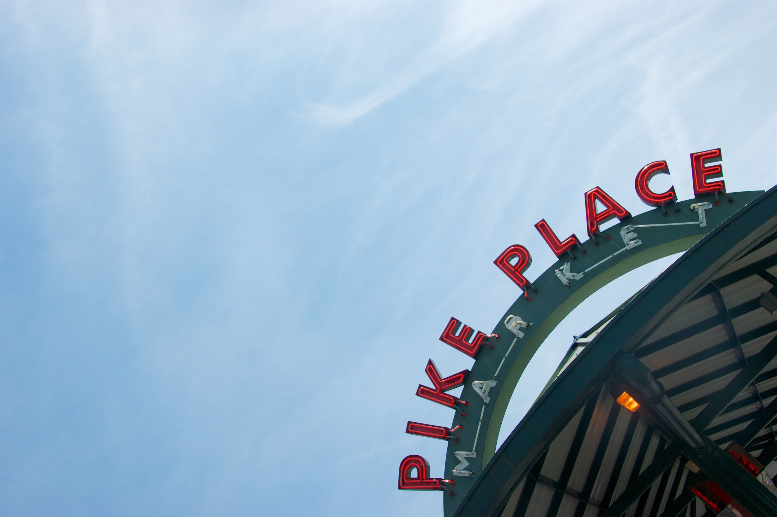 Pike Place Bus Stop