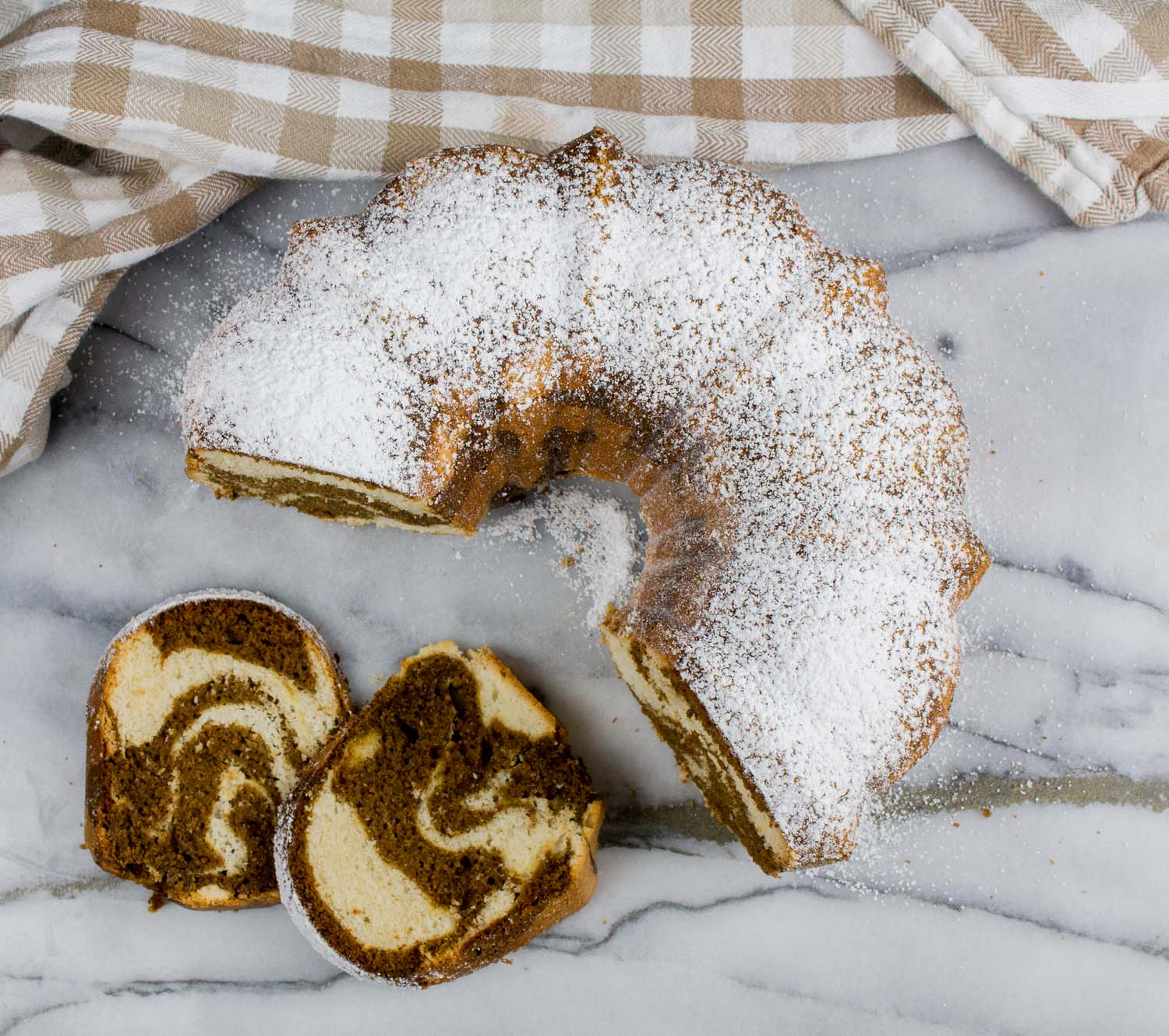marble spice cake