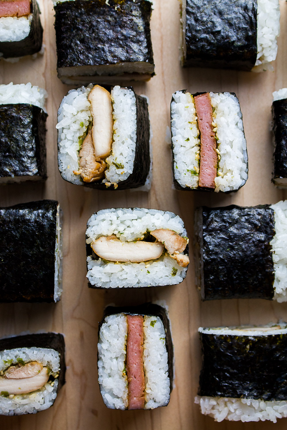 Chicken And Spam Musubi Knead Bake Cook
