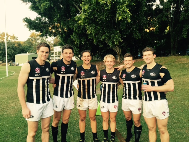 Band of Brothers  Left to Right: Sean McEvoy, Tim McEvoy, Brodie Easton, Riley Easton, Luke Mitchell, Drew Mitchell