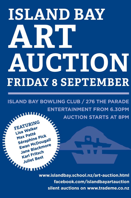 Island Bay School Art Auction - Island Bay Bowling Club8 September 2017