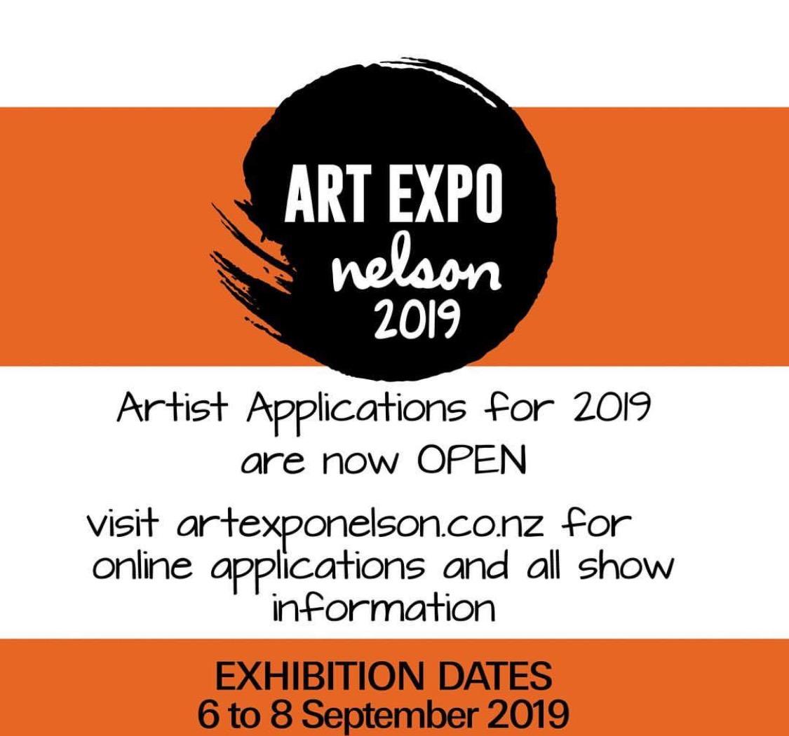 Art ExpoNelson - Trafalgar Centre, NelsonSeptember 6 - 8 2019