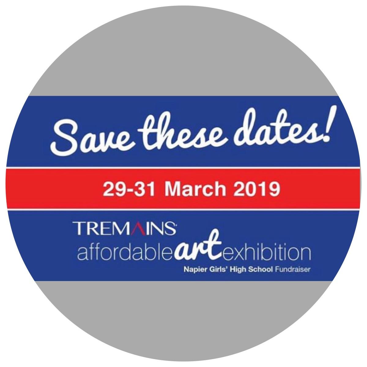 Affordable Art Exibition - Napier Girls High SchoolClyde Street, NapierMarch 29 - 31 2019