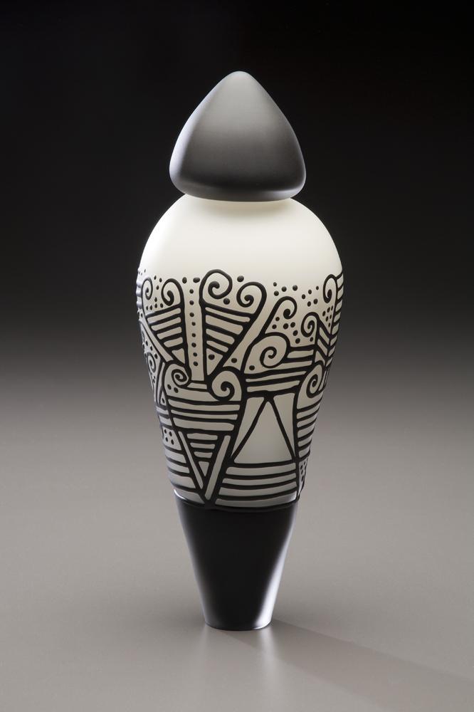Ivory and Black Pendulum