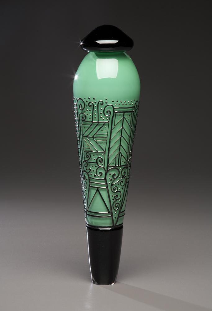 Green and Black Pendulum