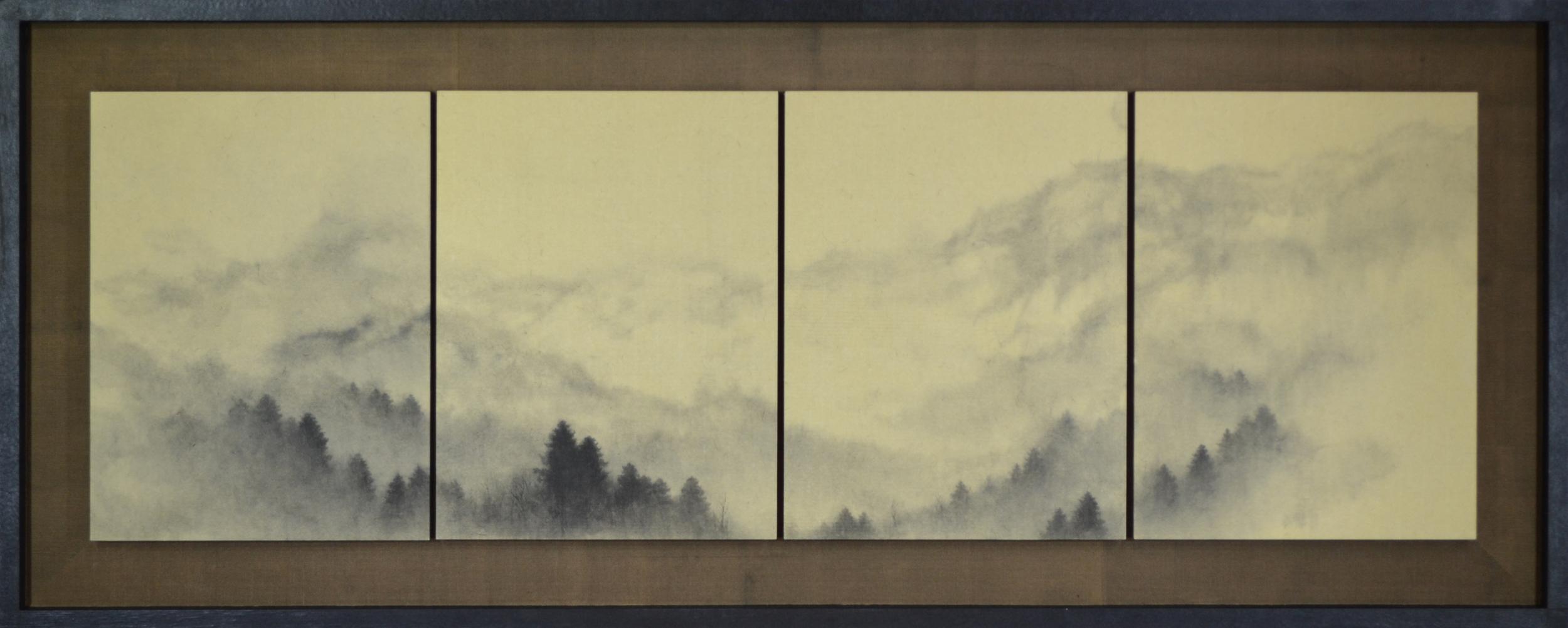 福山一光 | Ikko Fukuyama 山林図 |  Landscape , 2016