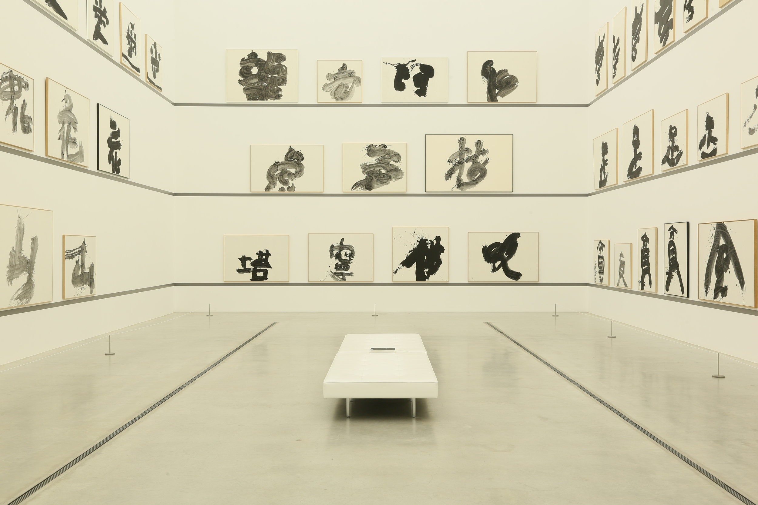金沢21世紀美術館「生誕100年記念 井上有一」   Inoue Yuichi Retrospective,  21st Century Museum of Contemporary Art, Kanazawa ©︎Yuichi Ihara