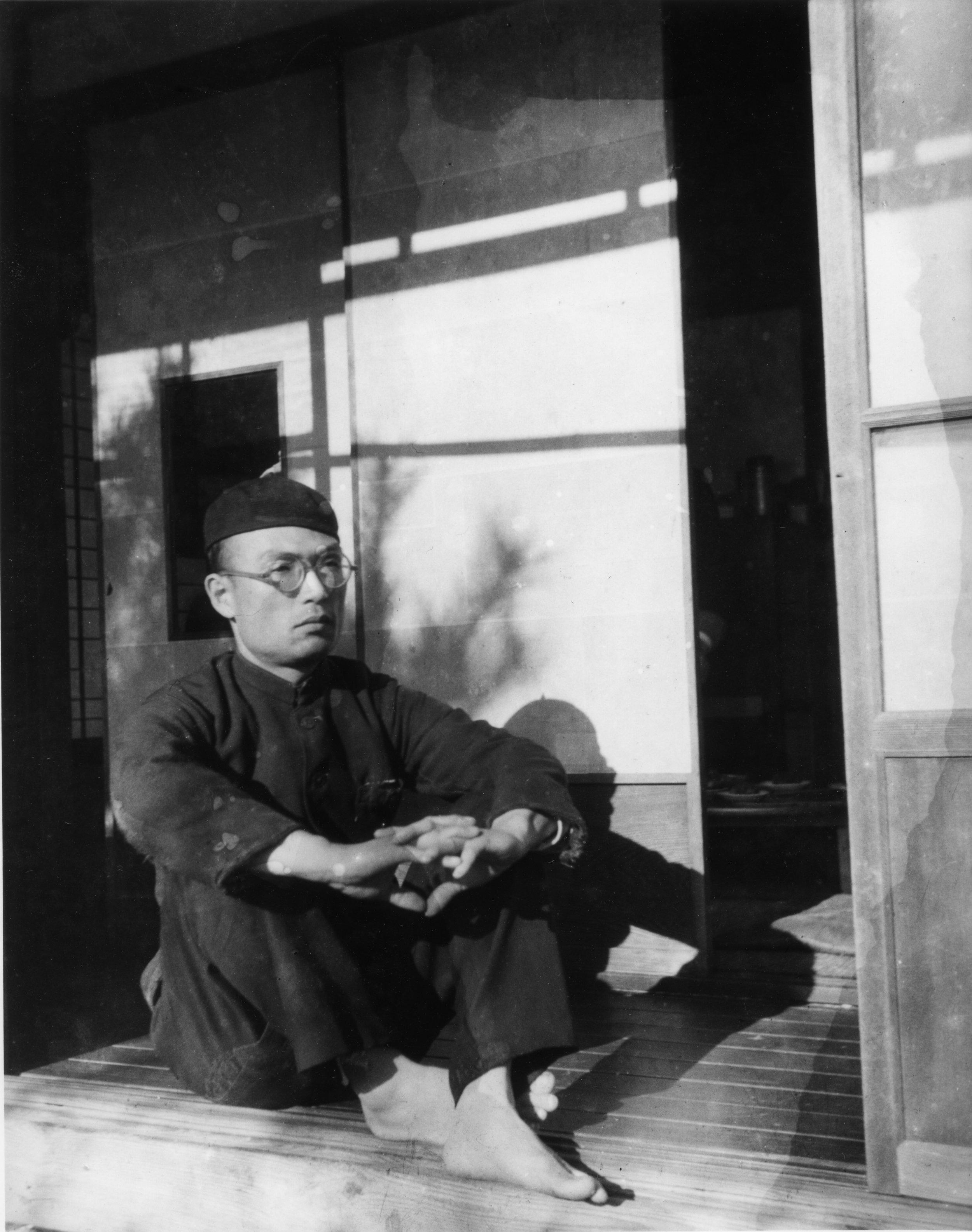 青年期の井上有一   Yu-ichi Inoue in his youth