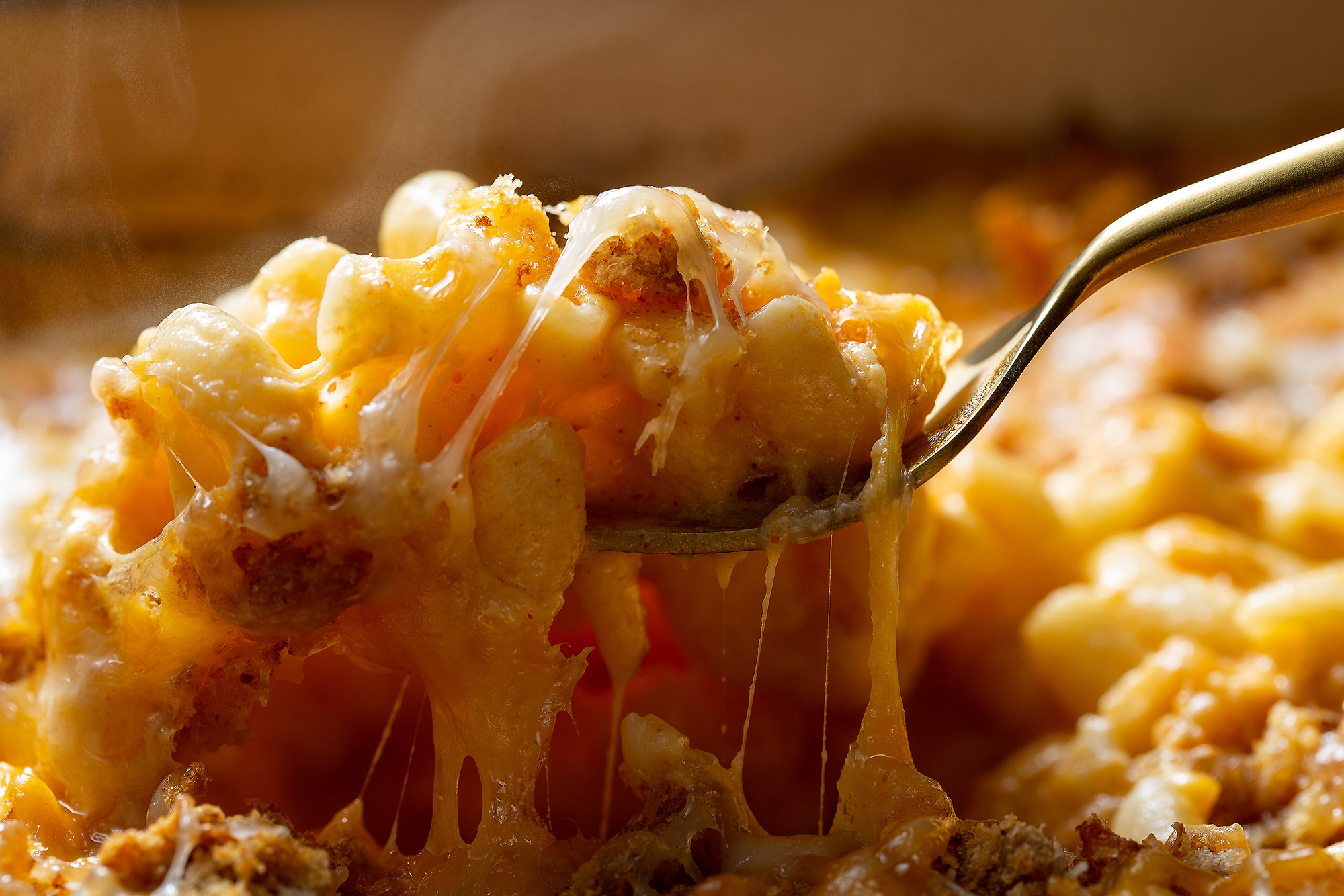 Ooey Gooey Gruyere and Cheddar Mac and Cheese