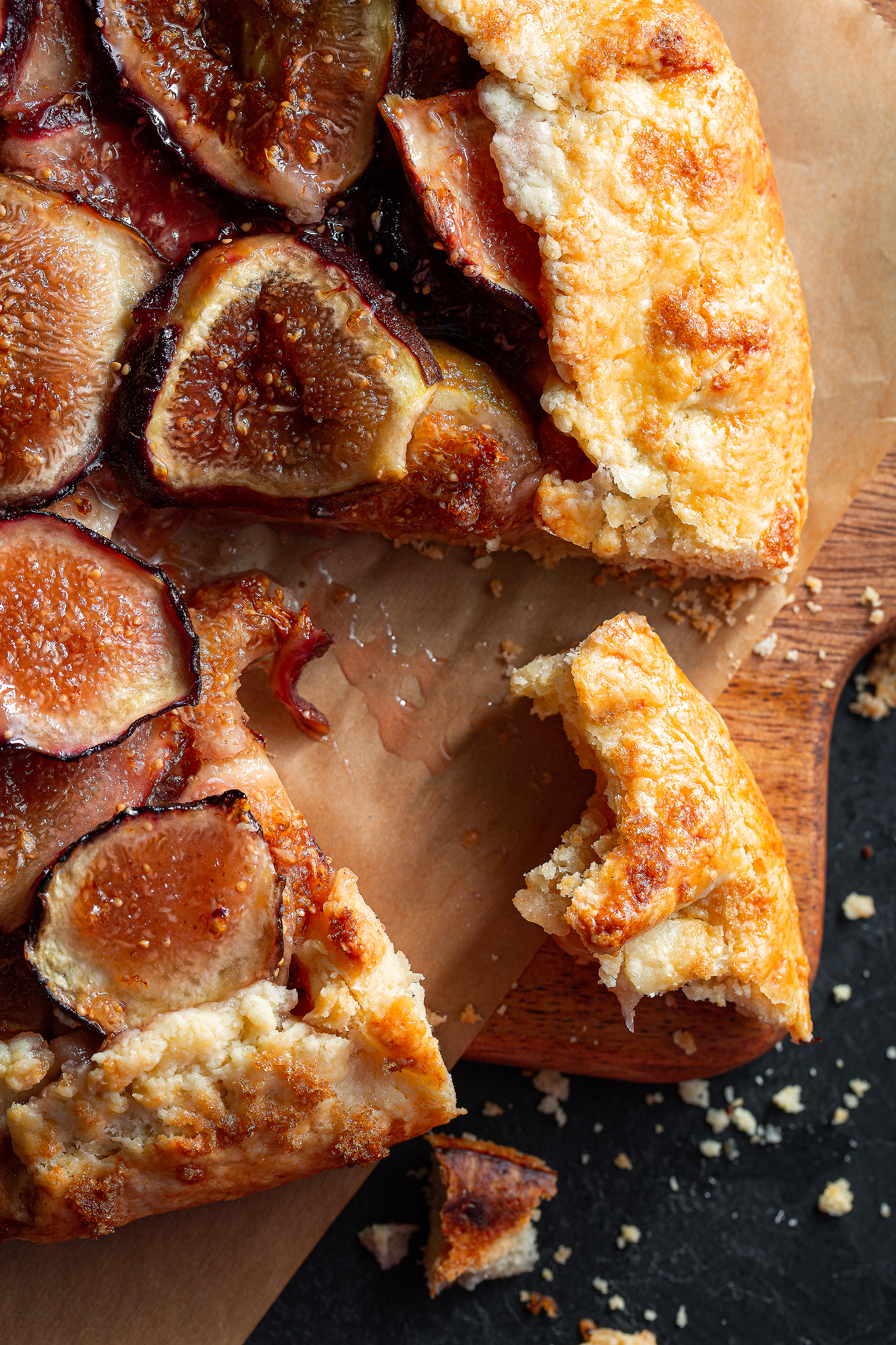 Summer Fruit Galette with Homegrown Figs