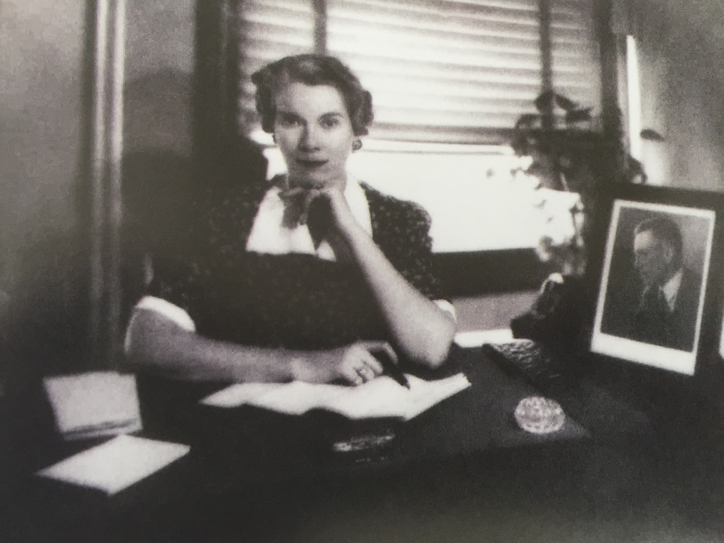 Kathleen Hocker, daughter of W.W. Jones
