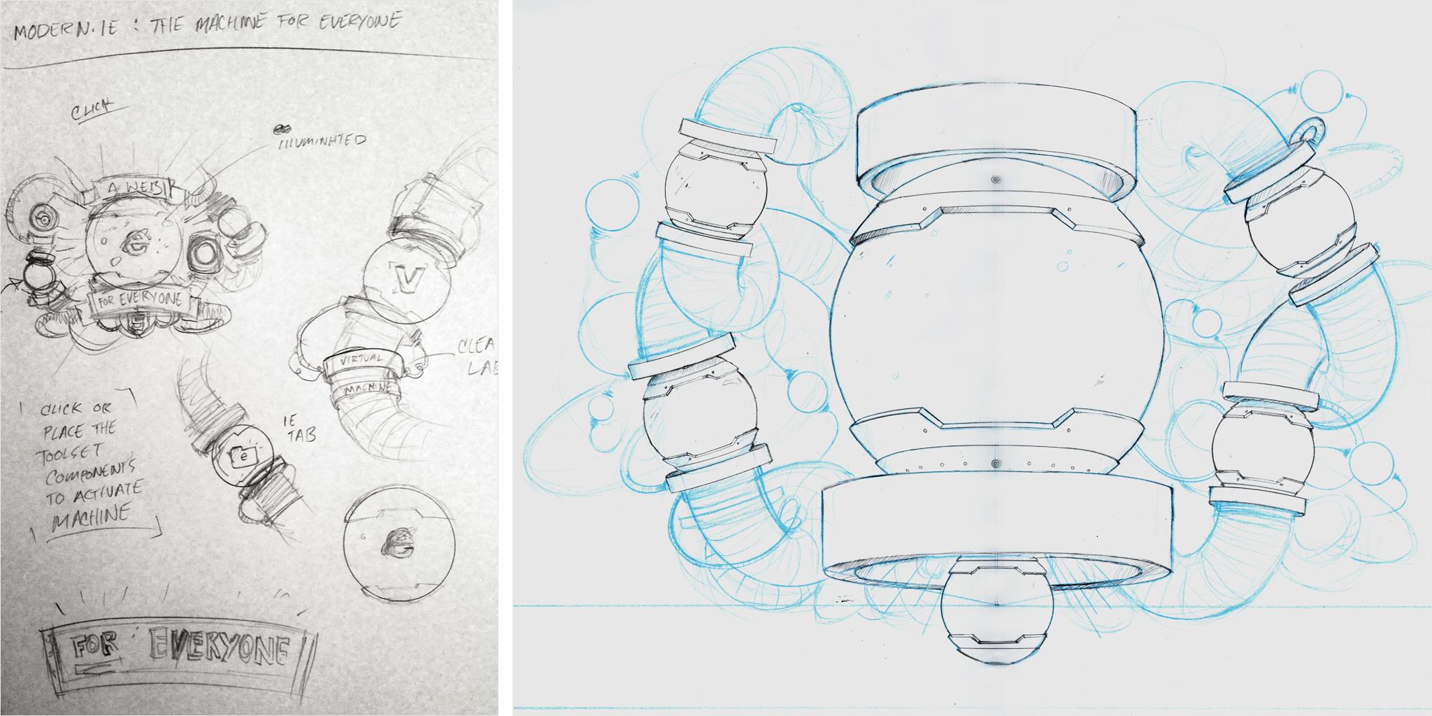 Concept Sketches - Microsoft Internet Explorer