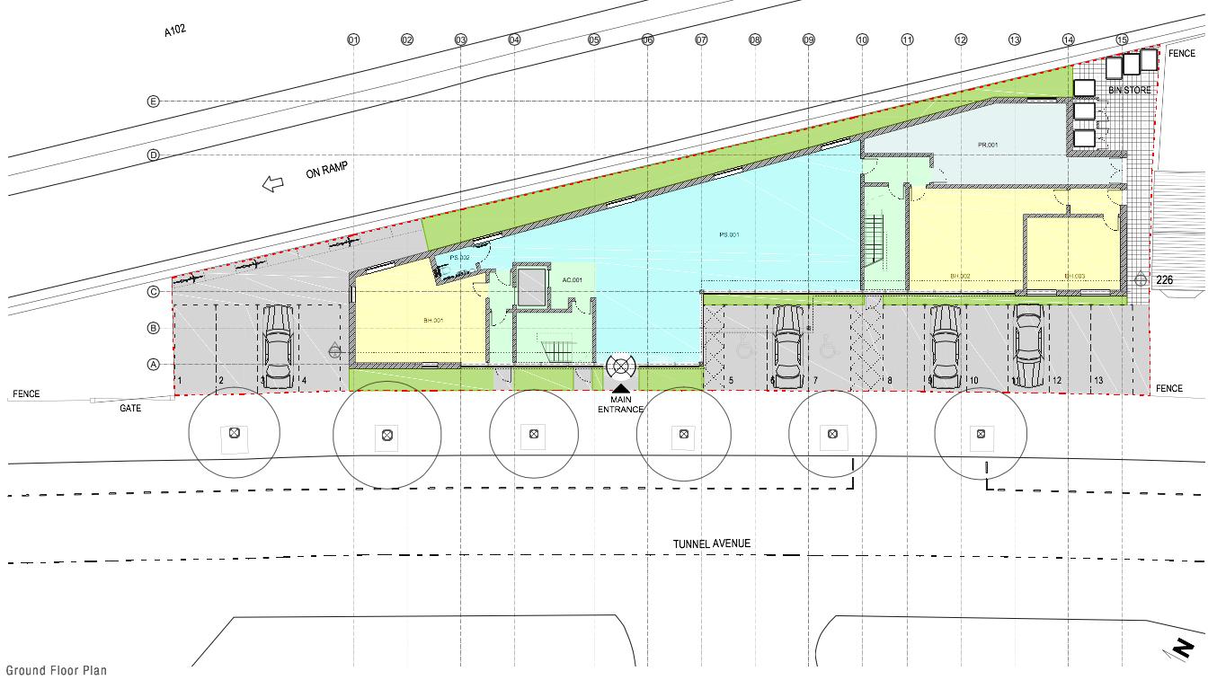Ground floor plan [Leach Rhodes Walker]