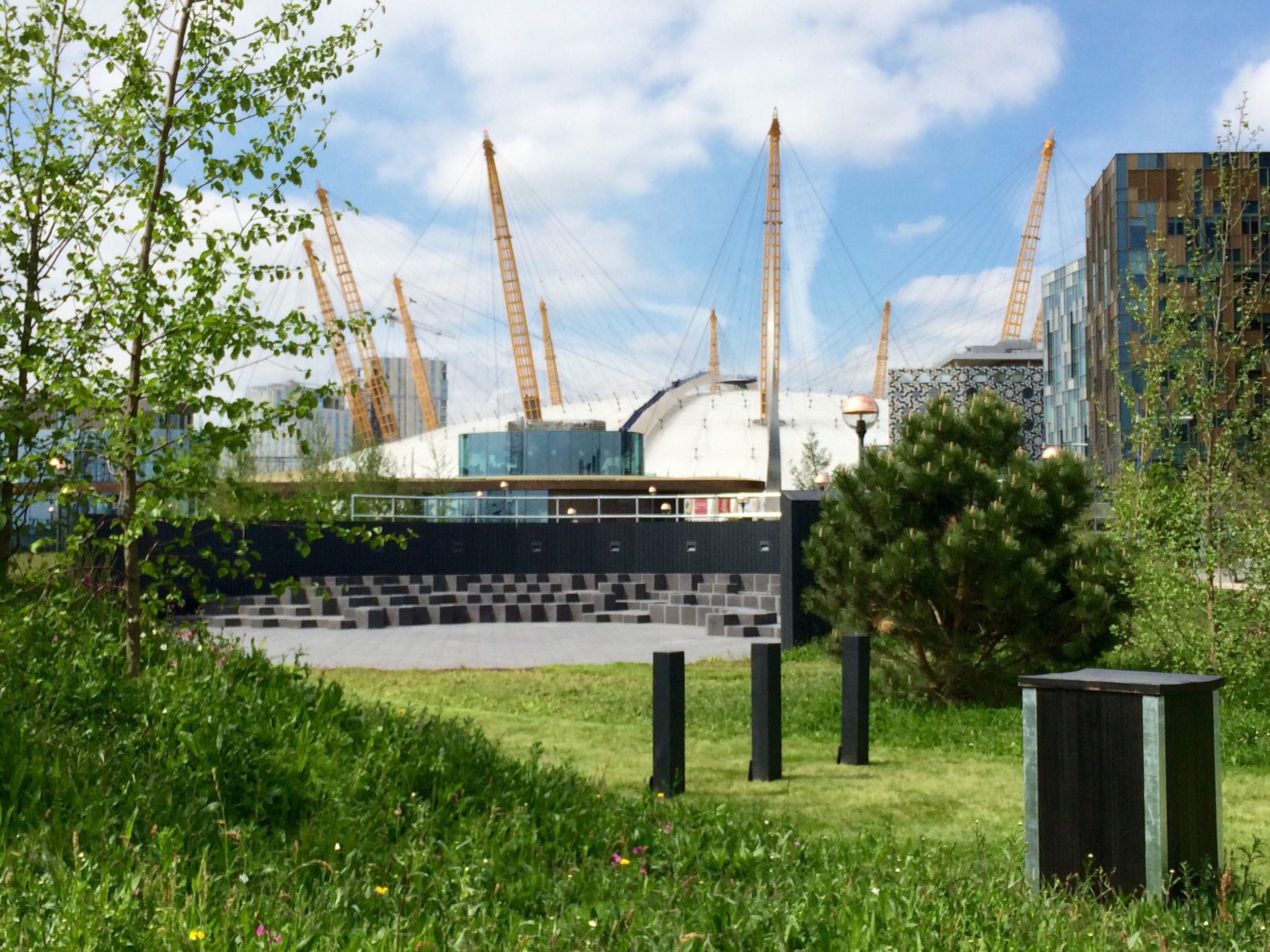 Greenwich Peninsula Garden -  June 2015  [greenpenlondon]