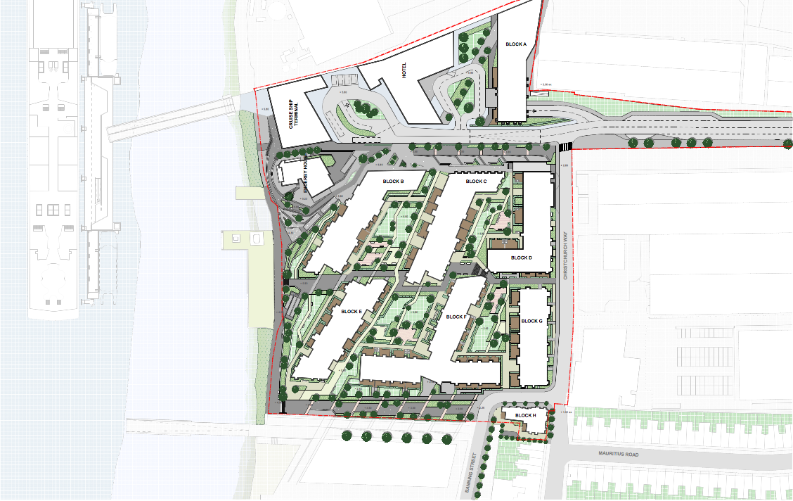 Approved 2014 plans, Enderby Wharf [HLM]
