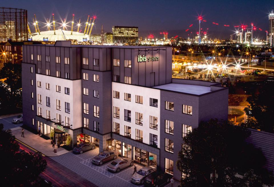 ibis Styles Hotel Greenwich Peninsula on Tunnel Avenue [One Investments, Nov 2015]
