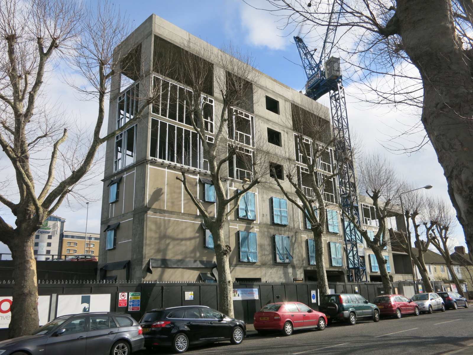 Construction progress - March 2016 [greenpenlondon]
