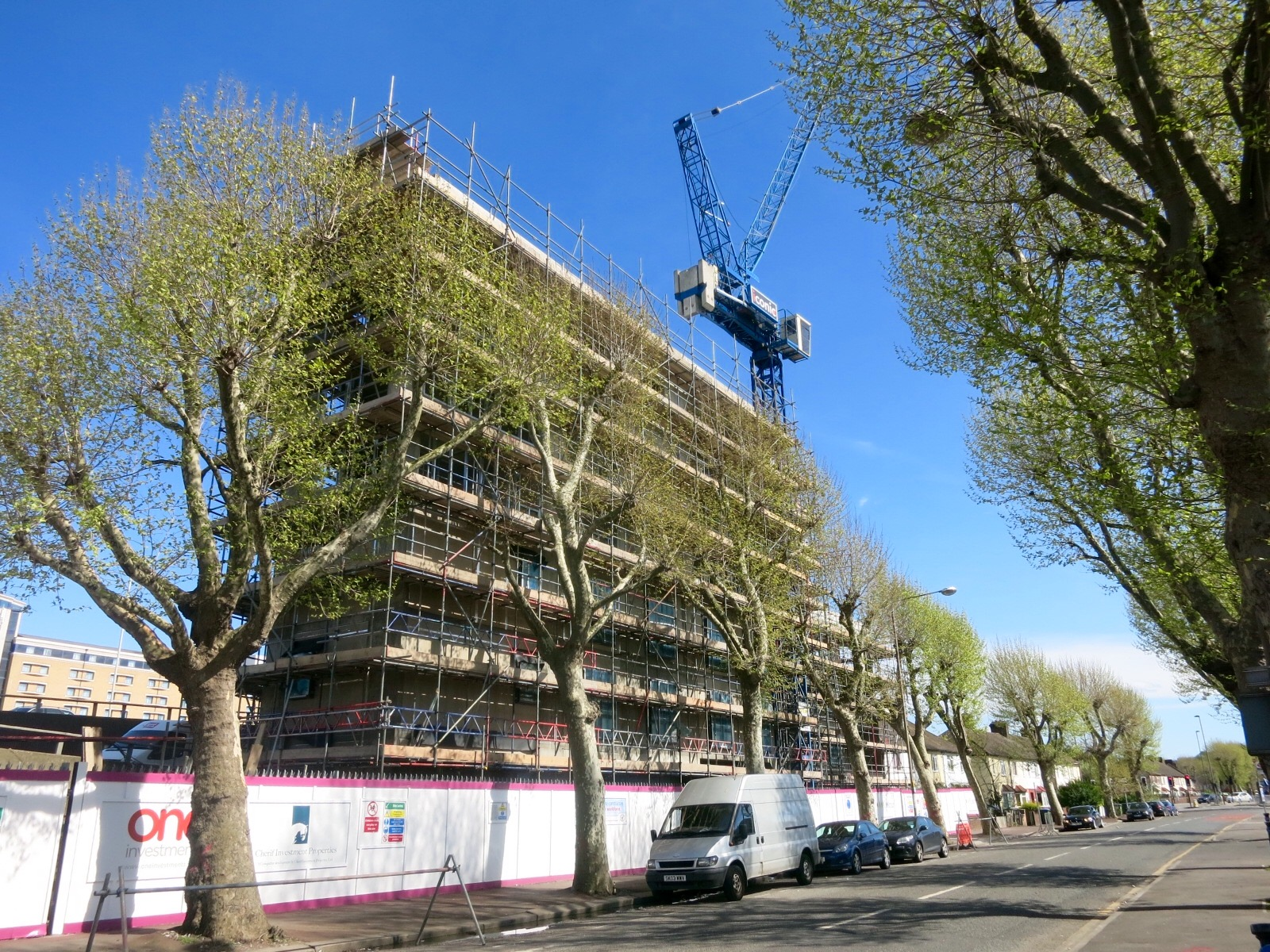 Construction progress - May 2016 [greenpenlondon]