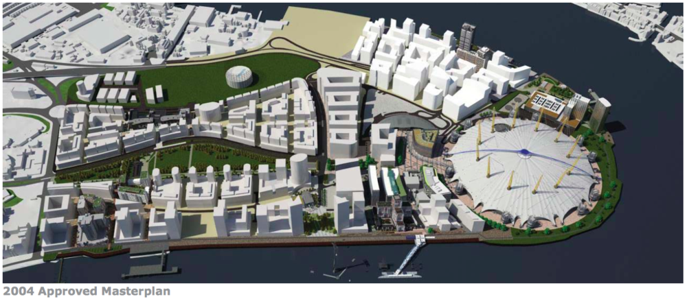 2004 Masterplan by Terry Farrell & Partners