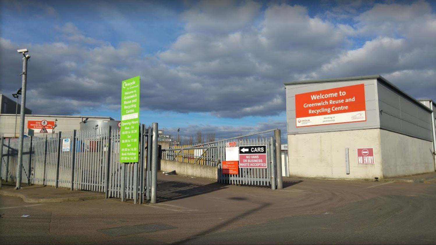 Greenwich Reuse and Recycling Centre, Thamesmead