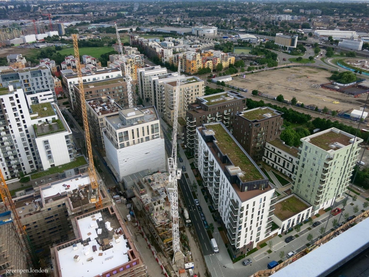Residential developments on the Lower Riverside/Parkside of Greenwich Peninsula -June 2016 [greenpenlondon]