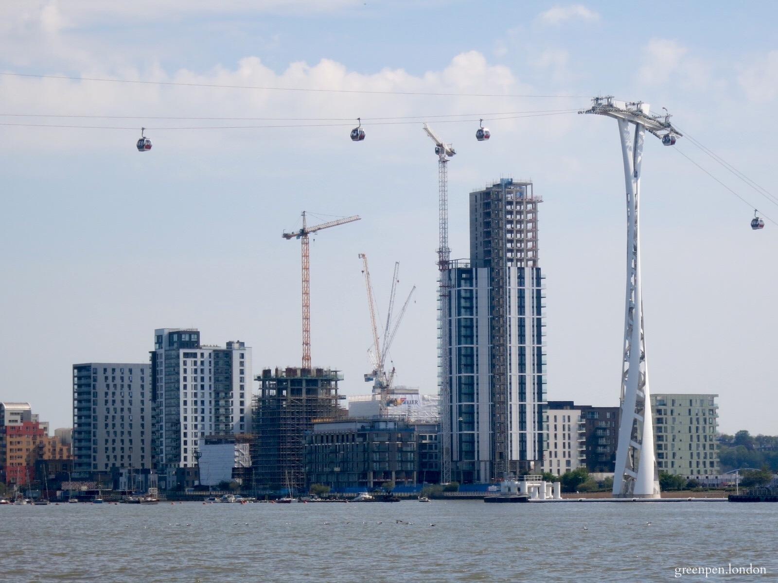 Developments on the Lower Riverside of Greenwich Peninsula - May 2016 [greenpenlondon]