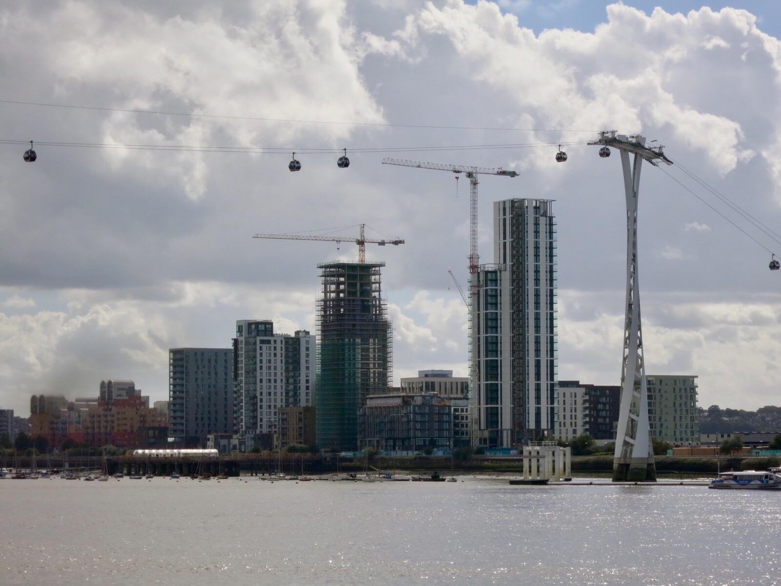 Lower Riverside developments viewed from Trinity Buoy Wharf, Poplar - Sept 2016 [greenpen.london]