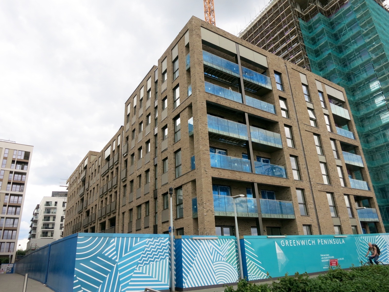 Block C along Reminder Lane and Olympian Way -July 2016 [greenpen.london]