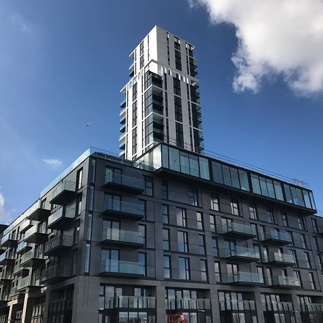 274 new homes at The Waterman and Waterman Gardens development by Knight Dragon on #greenwichpeninsula #greenwich #construction #newbuild #newhomes #london #knightdragon