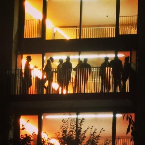Start of new term #scapegreenwich #scape #student #studentaccomodation #halls #greenwichpeninsula #greenwich #ravensbourne #london #lighting #northgreenwich
