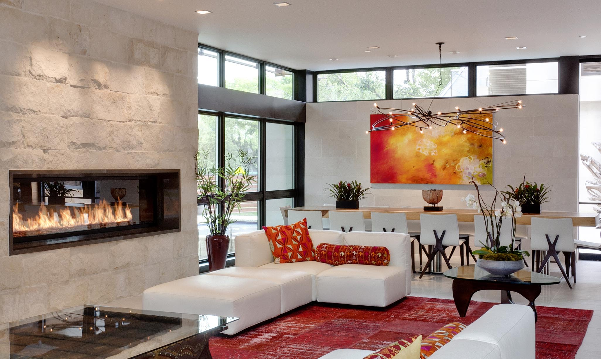 Nebula Chandelier Private residence