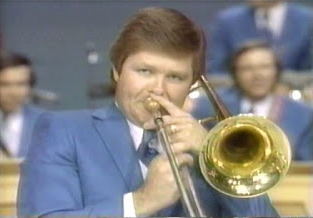 Don Staples playing Trombone on  The Lawrence Welk Show